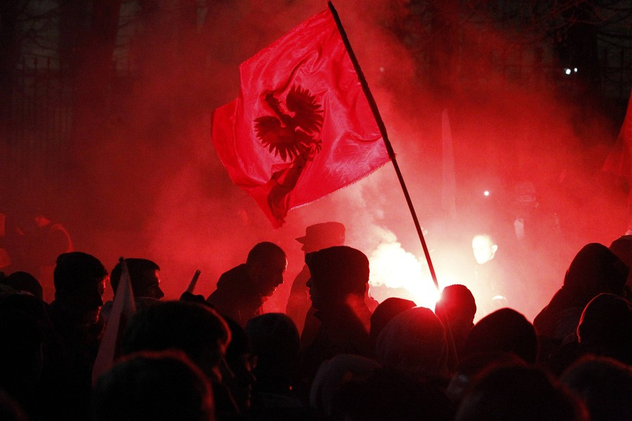 Ultra-nationalist unrest in Warsaw ends in clashes with Police