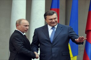 Putin and Yanukovich