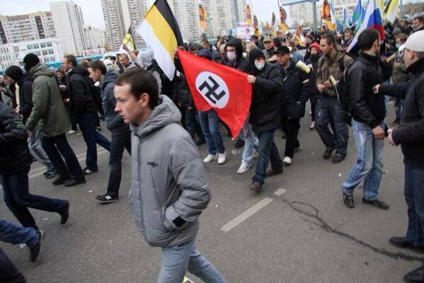 Inter-ethnic tensions on the rise in Russia as neo-Nazists take it to the streets