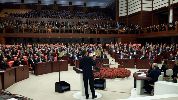 Turkey lifts ban on pants for female MPs in the parliament