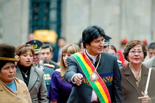 Bolivian president applauds China, Russia ties, laments rift with U.S.