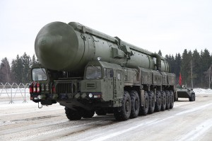 Russian missile topol