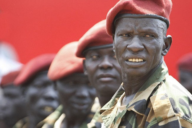 South Sudan government troops launch an offensive on Bor and Bentiu