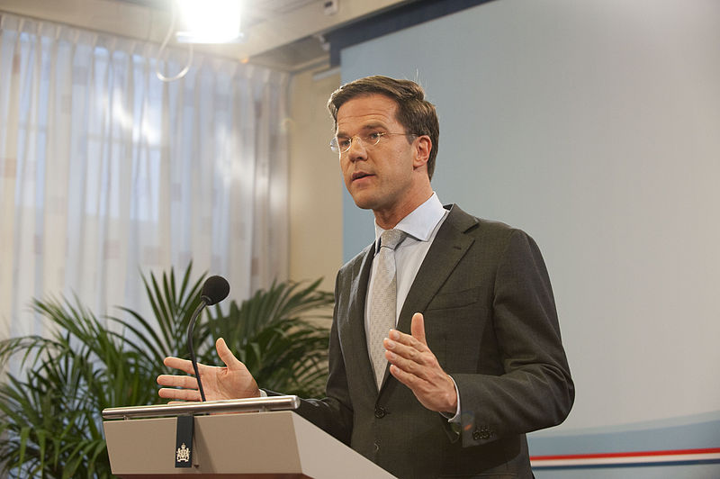 Mark Rutte will talk about gay rights in Sochi