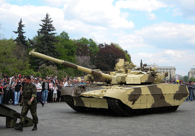 Ukraine delivers main battle tanks to Thailand