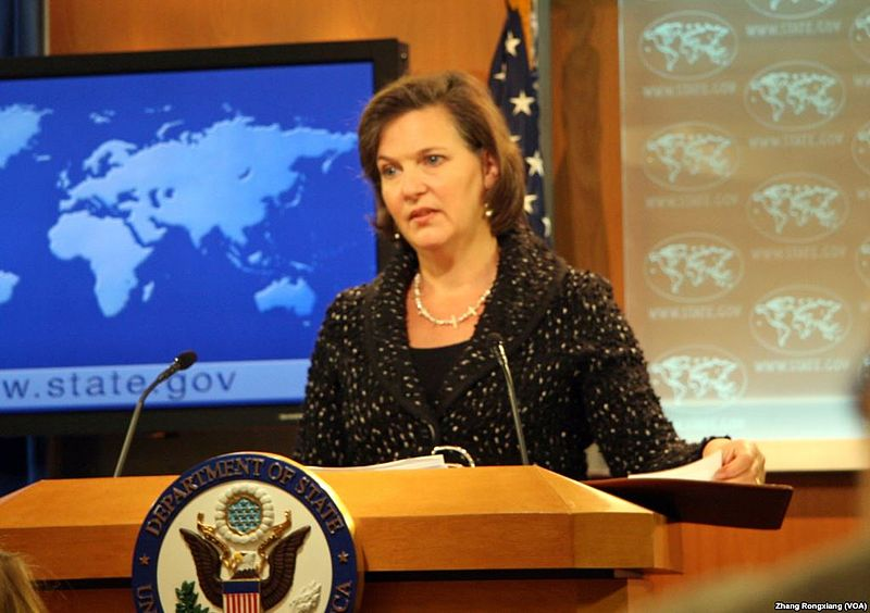 'F#$% the EU,' Nuland says in the midst of her visit to Ukraine
