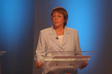 Bachelet is sworn in as Chile's next president