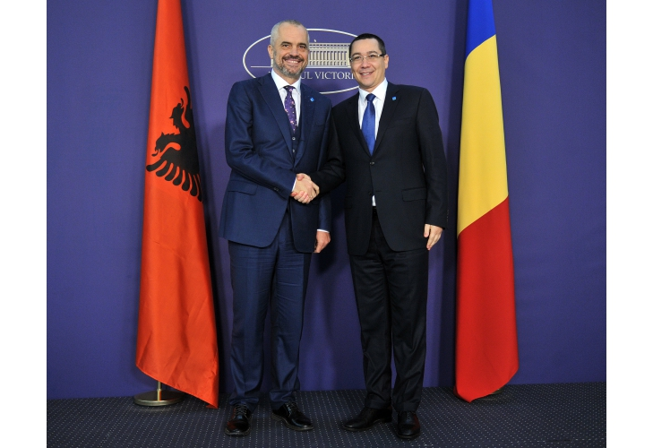 Romania strengthens its relations with Albania