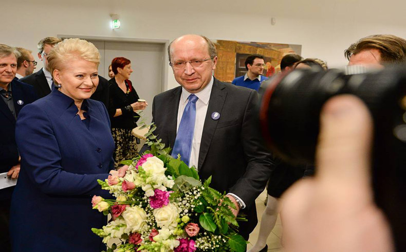 Dalia Grybauskaite managed to stay in the Lithuanian executive office for the second time