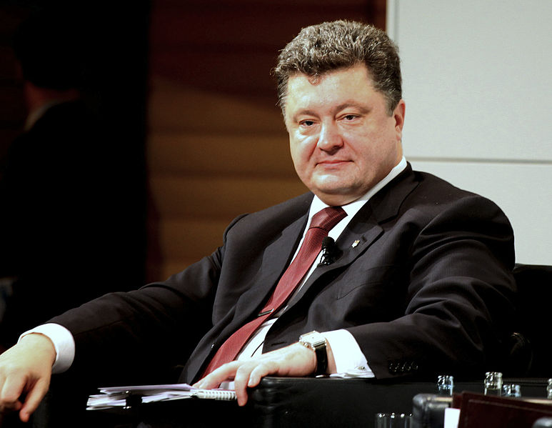 Poroshenko vows to regain Crimea by 'any means'