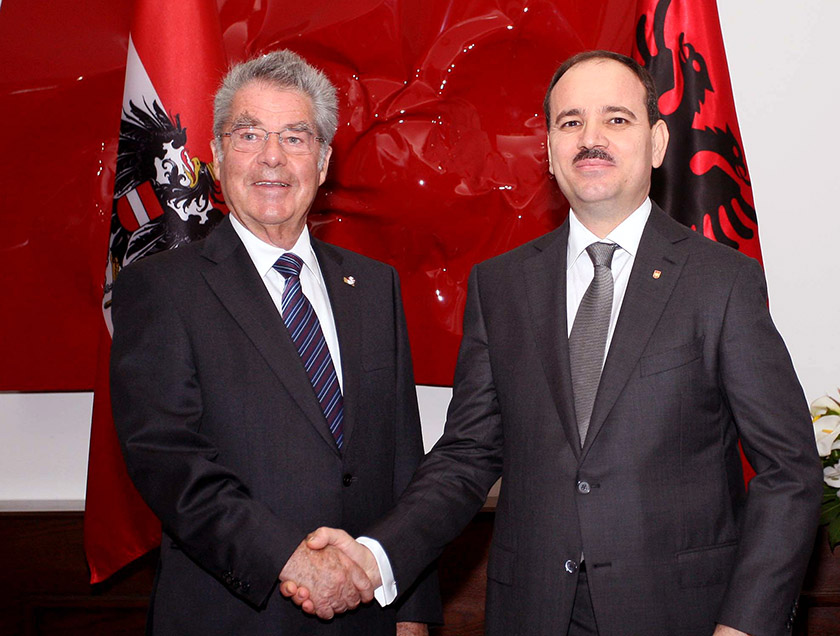 Austria strengthens its bilateral ties with Albania