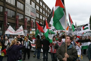 Pro-Palestinian demonstration in Dublin