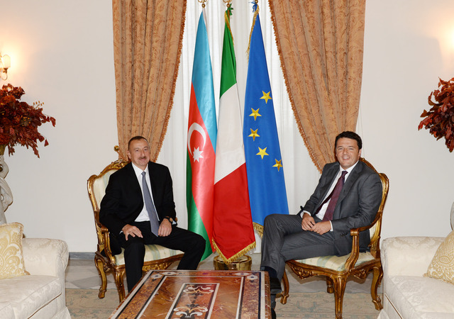 Azerbaijan: President Aliyev strengthens cooperation with Italian government
