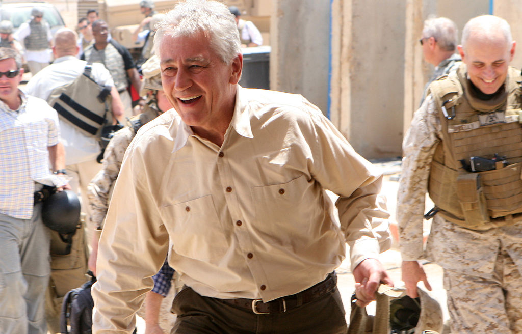 Hagel says US military accelerating mission to train Iraqi troops