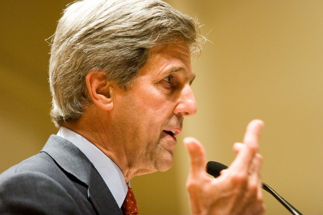 Secretary John Kerry about