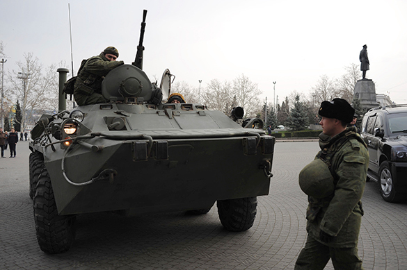 Ukraine claims it destroyed the Russian military convoy