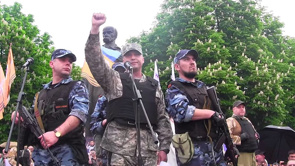 Leader of Luhansk separatists resigns