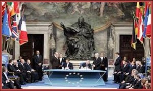 Signing of the EU Constitution (17 June 2004)