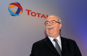 French energy giant Total CEO Christophe