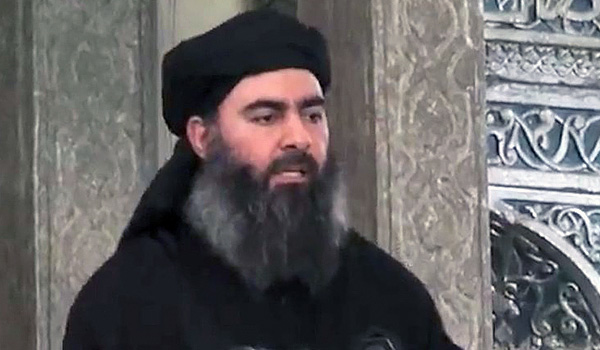 IS leader injured in air strike in Iraq
