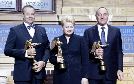 Baltic countries awarded with Europe's Golden Victoria Award