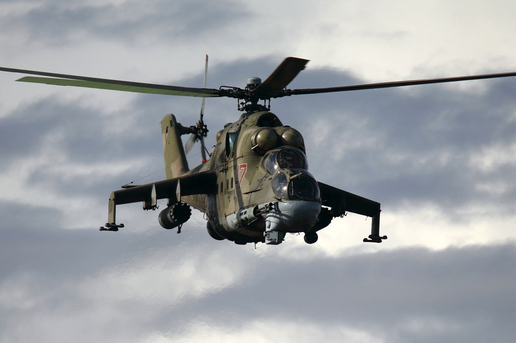 Azerbaijani forces down an Armenian military helicopter