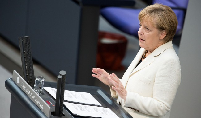 Merkel: NATO will protect Baltics against Russian aggression