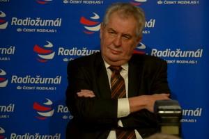 President Milos Zeman