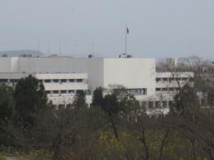 Building of Pakistan's Majlis-e-Shoora