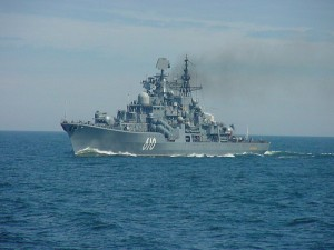 Russian destroyer RFS Natoychiviy (DD 610)  participating in Baltic Operations (BALTOPS) 2005