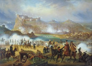The 1828 Russian siege of Kars by painter January Suchodolski (Photo: Courtesy of Wikipedia)