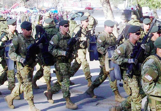 The Chilean military promotes diversity by recruiting indigenous people