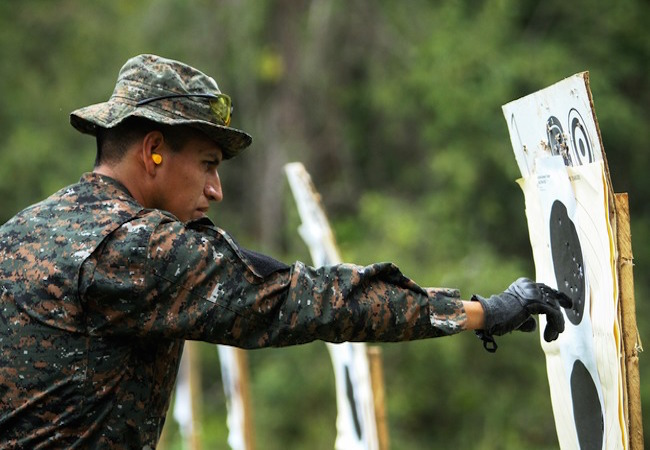 Guatemalan Kaibiles, U.S. Special Forces promote security through partnership
