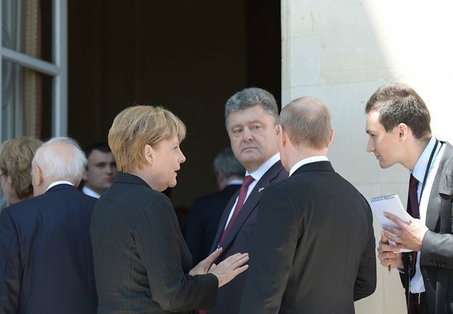 G-7 leaders issue a statement on Ukraine