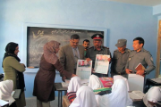 Afghanistan: Community policing activities to save children's lives