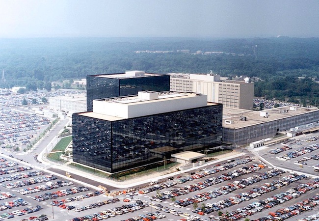 Shootout outside US NSA building appears 'local criminal matter'