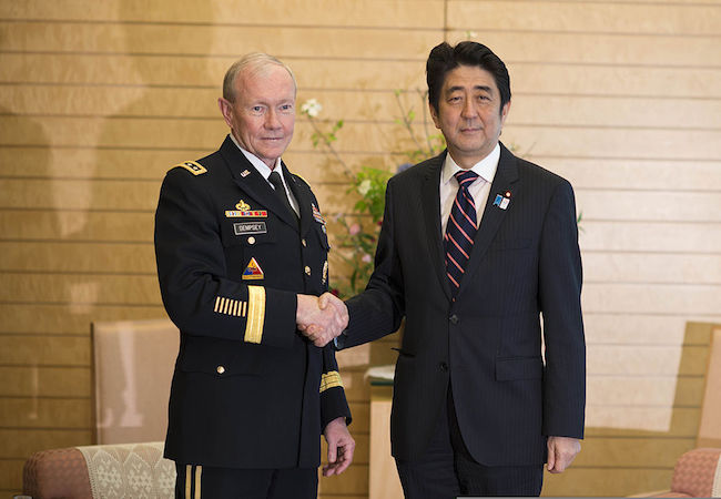 Abe government mulls dispatching SDF troops on EU missions