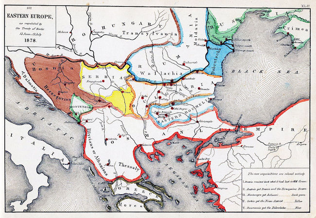 Berlin Congress of 1878 still in force in the Balkans