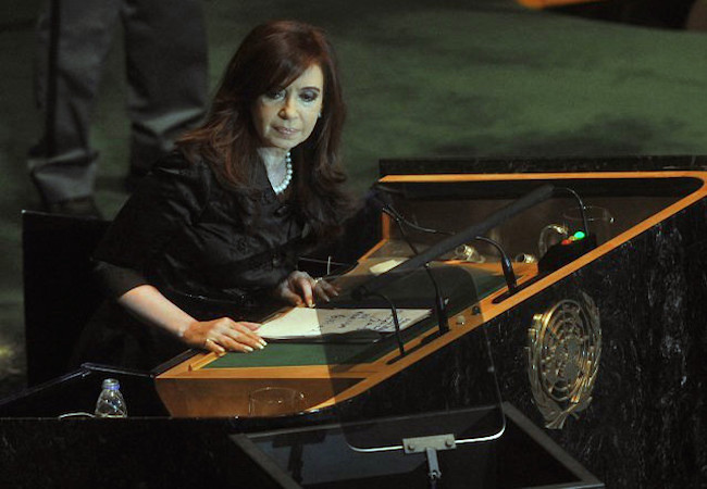 Cristina Kirchner/Macri dispute Buenos Aires province Senate seat