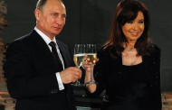 Cristina Fernandez will visit her close new friend Putin on April 22/23