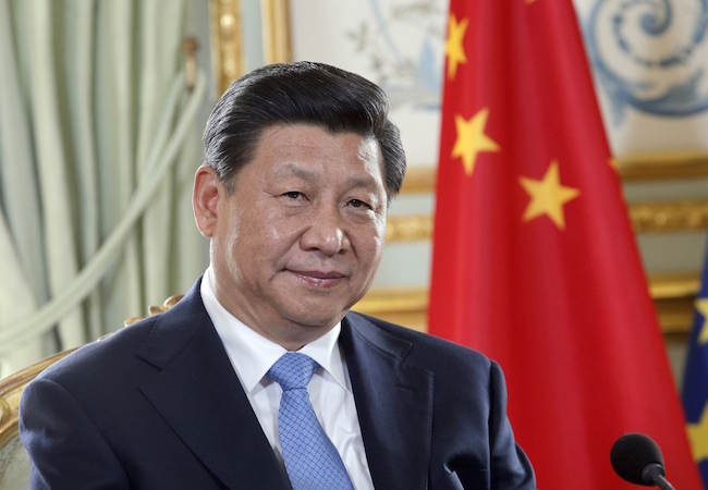 China's President Xi Jinping attends the 60th Commemoration of the Asia-Africa Conference