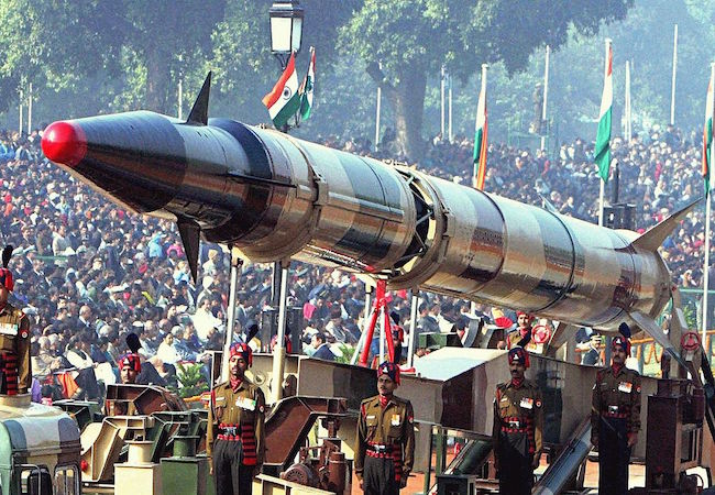 Role of nuclear weapons in South Asia
