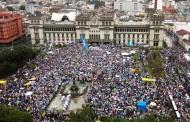 Massive turnout in Guatemala demanding president Perez Molina steps down