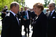 Putin, Merkel call for political dialogue in Ukraine, bilateral cooperation