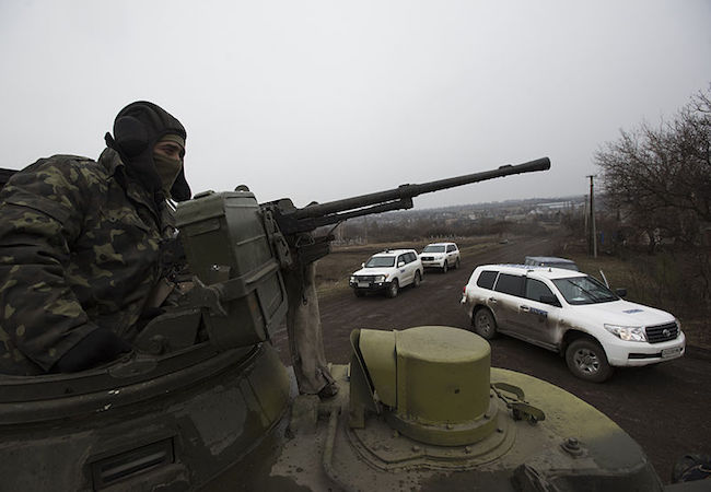 Situation in eastern Ukraine remains
