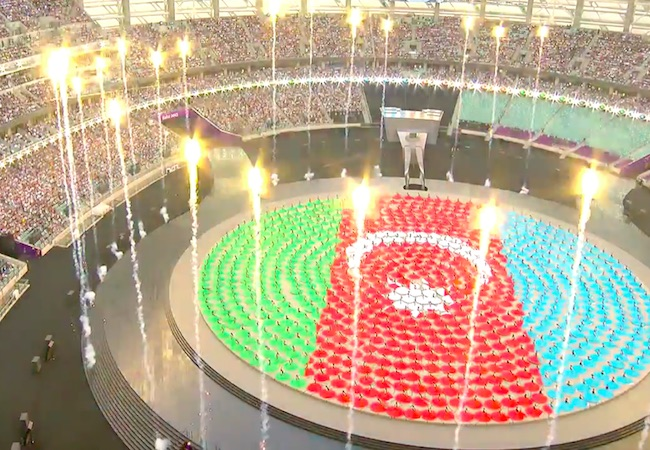 Baku declares European Games open