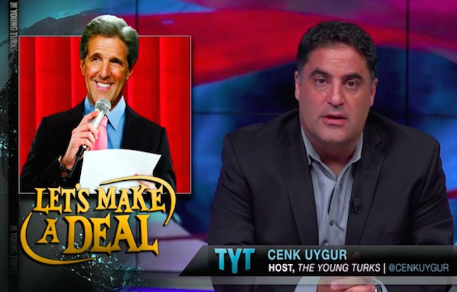 "Cenk Uygur of The Young Turks hails Iran deal as, ""Fantastic!"""