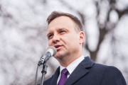 Polish President Duda calls for increased NATO troops in eastern region