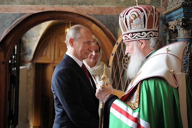 The rebirth of the Patriarch of Moscow: Vladimir Putin's politics in harmony with the Orthodox Church