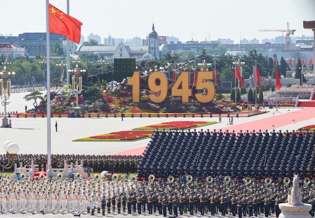 China's message to the world via its V-Day celebration